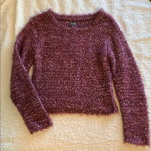Wild fable crop sweater